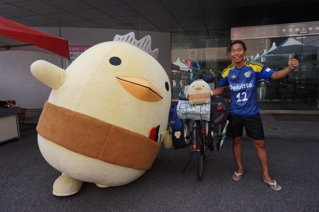 自転車日本一周withバリィさん