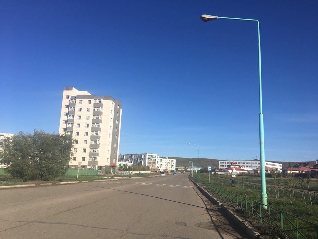 ダルハンの街