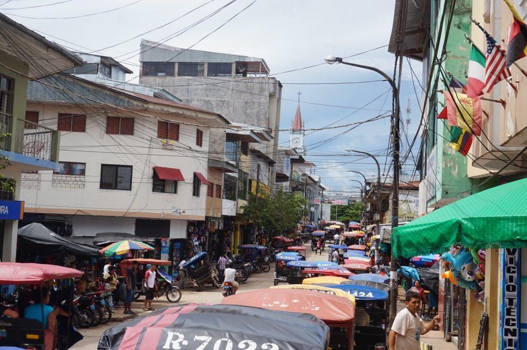 ユリマグアスのメインストリート?