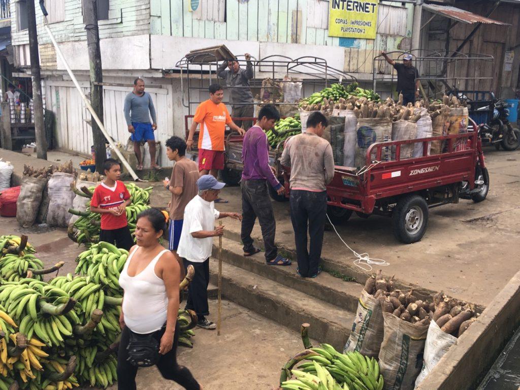 南米で多い芋ユカ