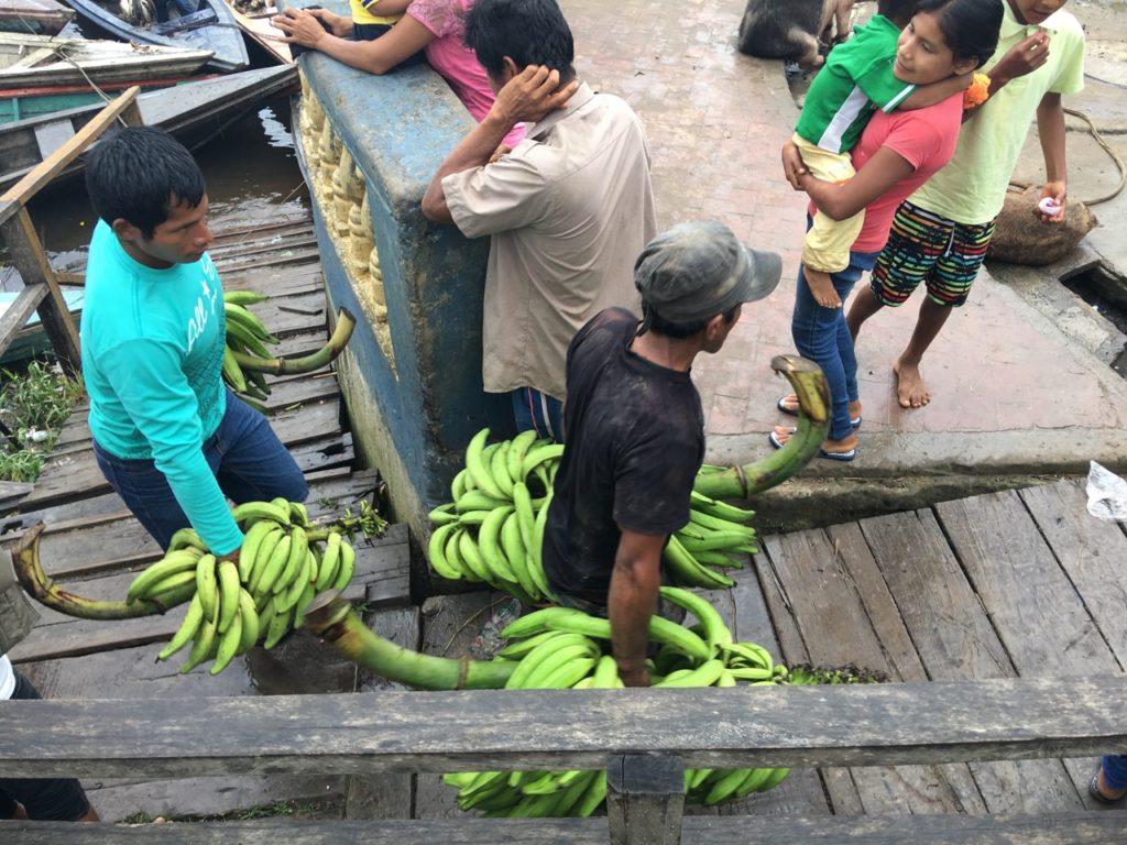 バナナを運ぶ人2