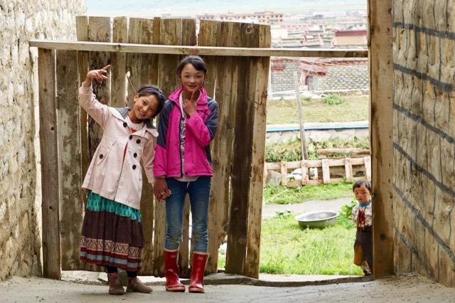 道中で会った少女たち