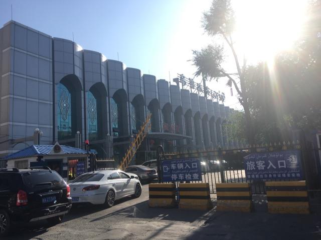 ウルムチのバスターミナル