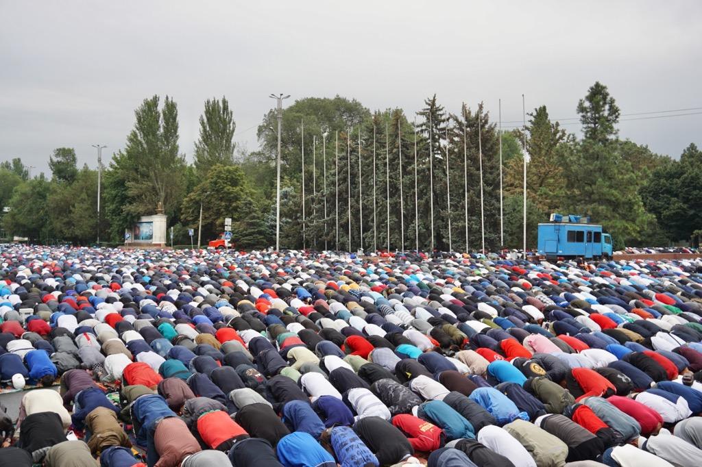 ムスリムの集団礼拝