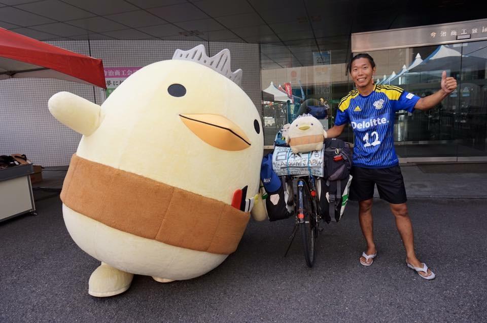 バリィさんと自転車日本一周編