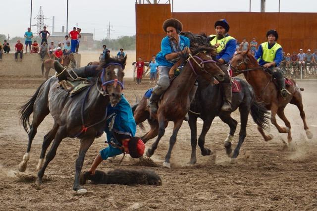 キルギスタンの国技キョクボル