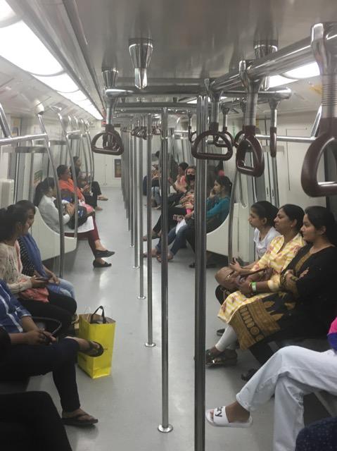 インドの女性専用車両