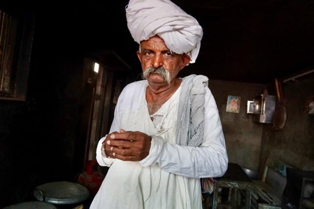 ラバリ族の男性