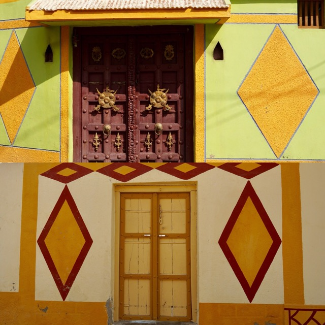 マンドビの家のゲート