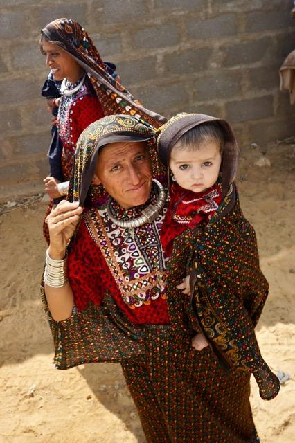 少数民族の女性