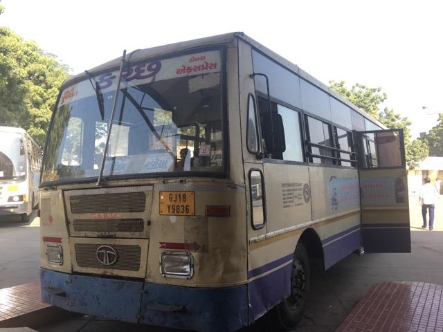 ガバメントバス、マンドビからナリヤ