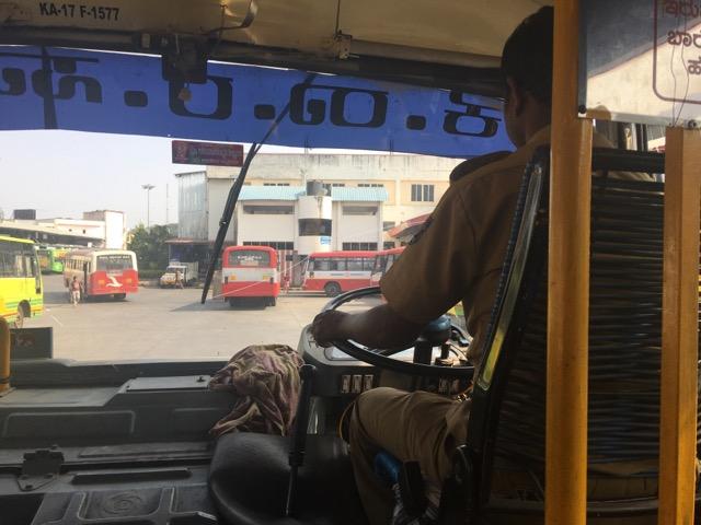 シヴァモガ~チトラドゥルガ行きのバス