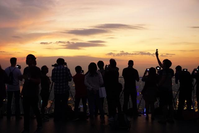 マハナコンの展望台