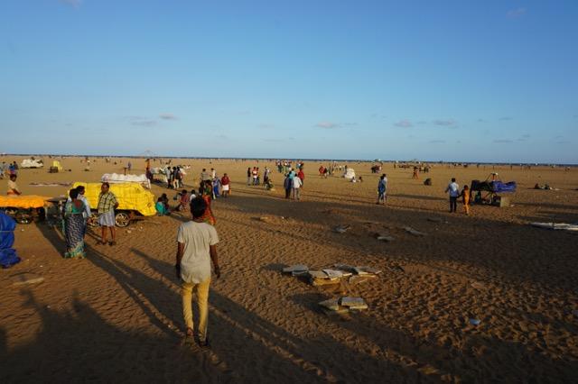 チェンナイのビーチ