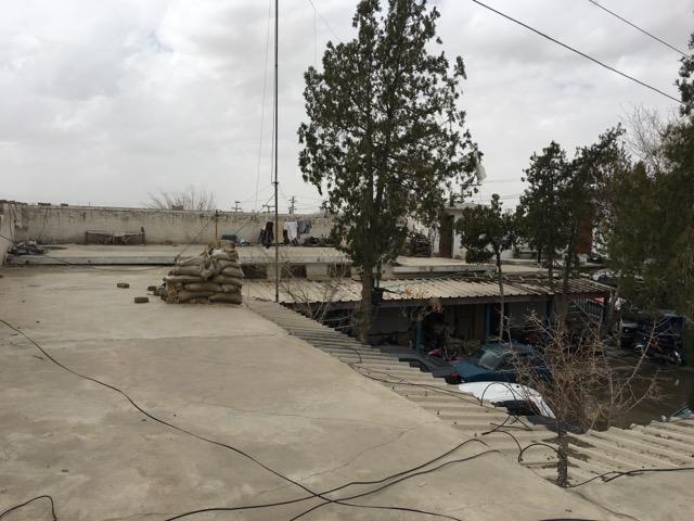 クエッタの警察署の屋上