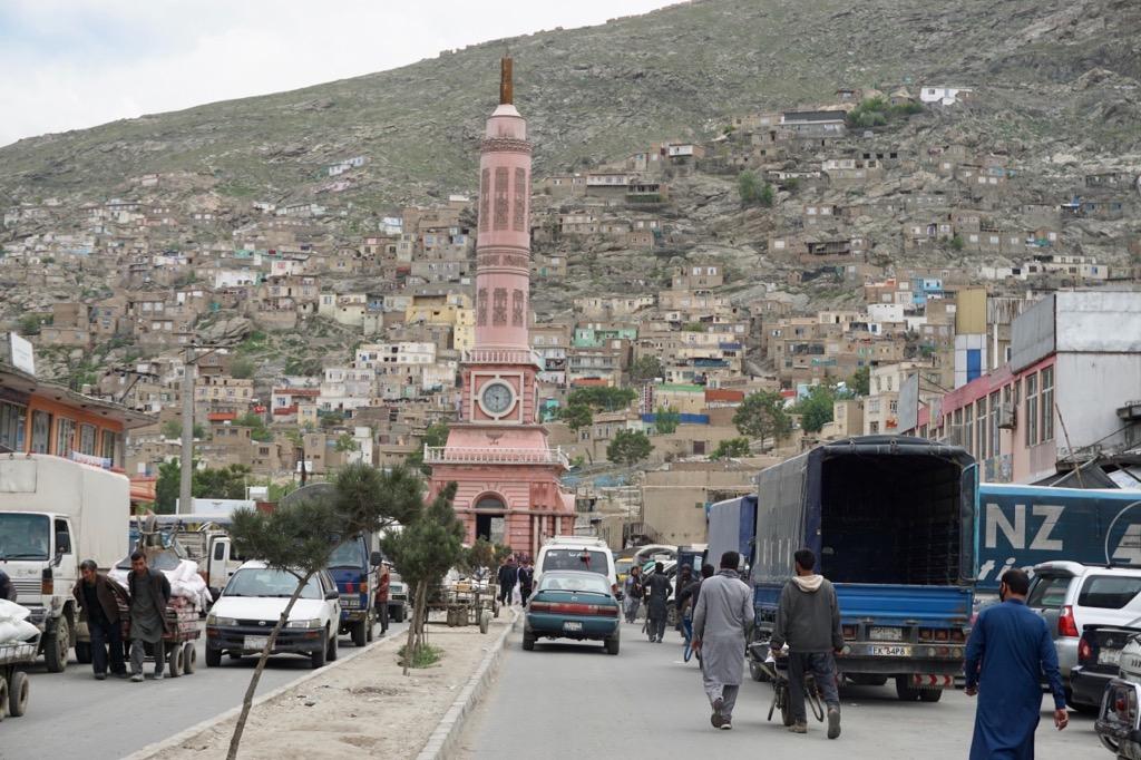 アフガニスタンの首都カブールにて