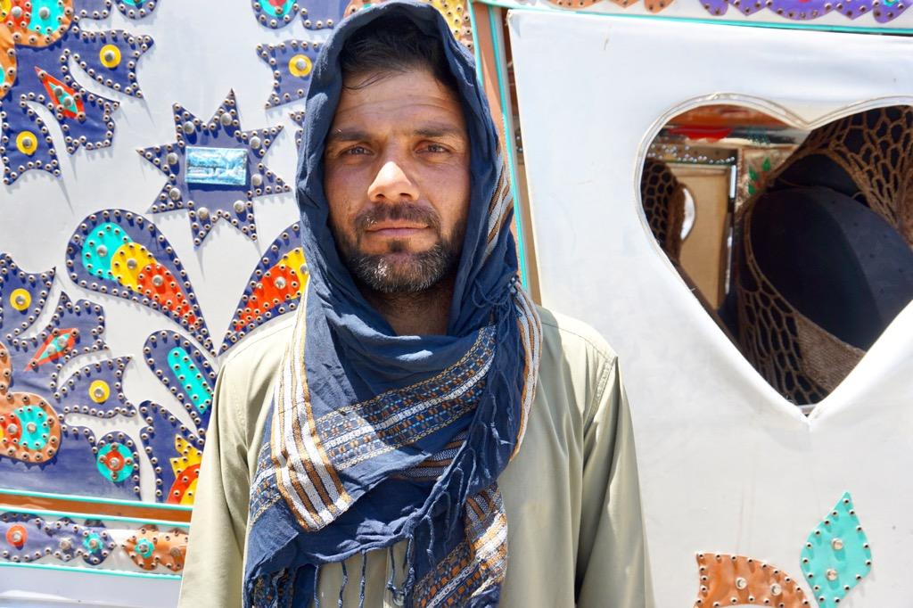 アフガニスタン人のイケメン
