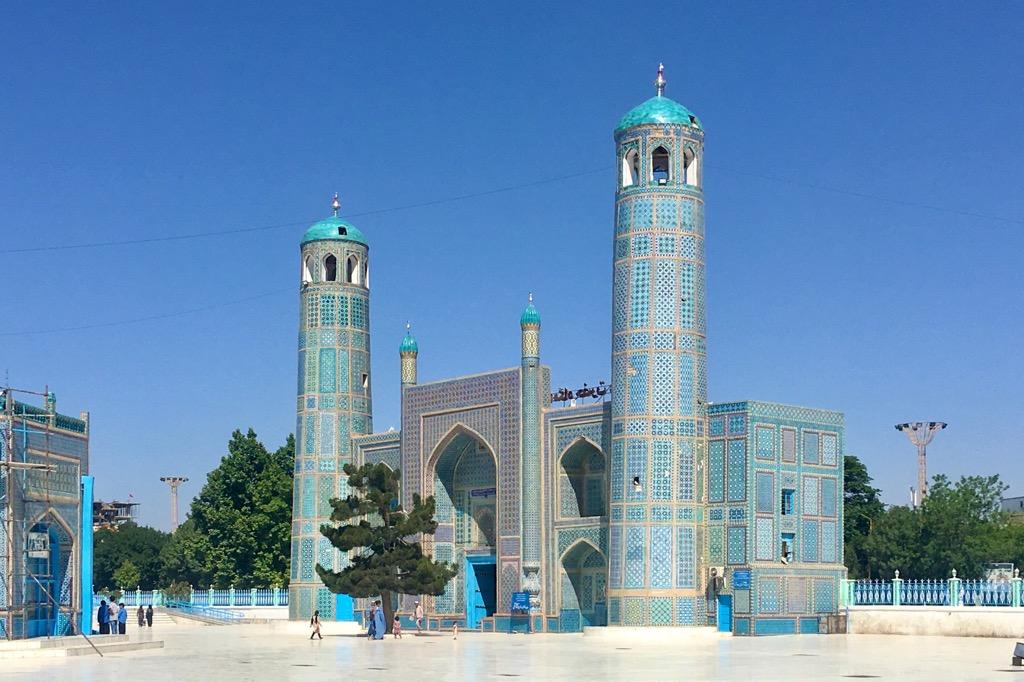 【ブルーモスク】アリーのモスク(ハズラト・アリー廟)