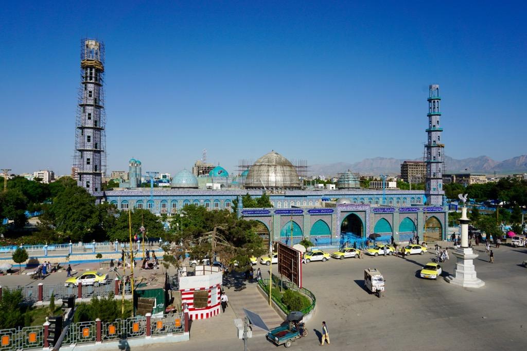 Shrine of Hazrat Ali in Mazari Sharif