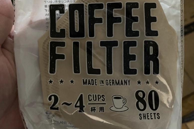 100均のコーヒーフィルター