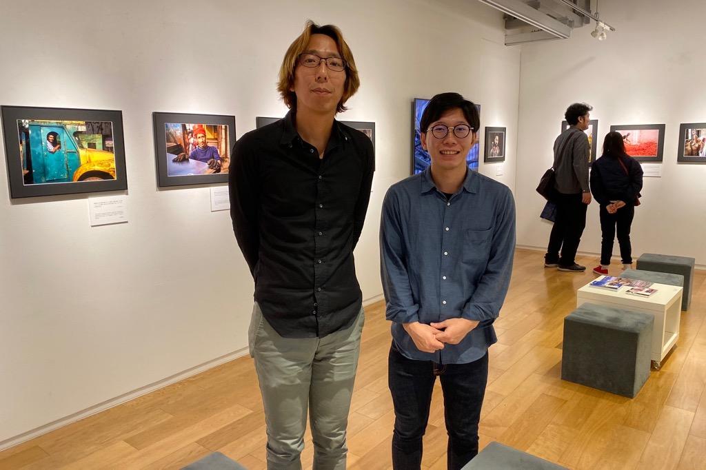 三井昌志さんと@「渋イケメンの旅」写真展で