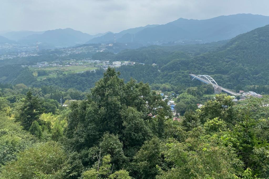 大垂水峠からの景色