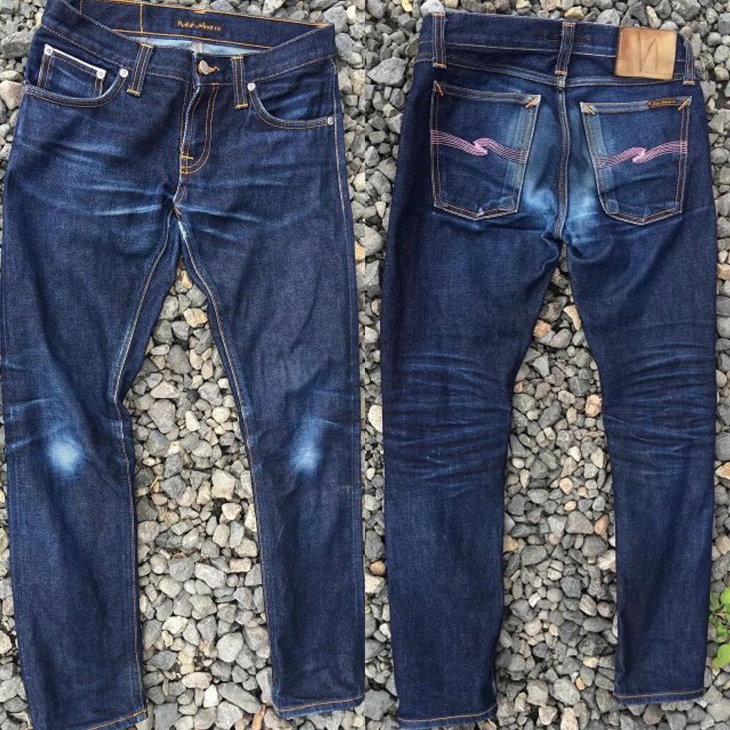 Day60. Long John Sakura Selvage - nudie jeans