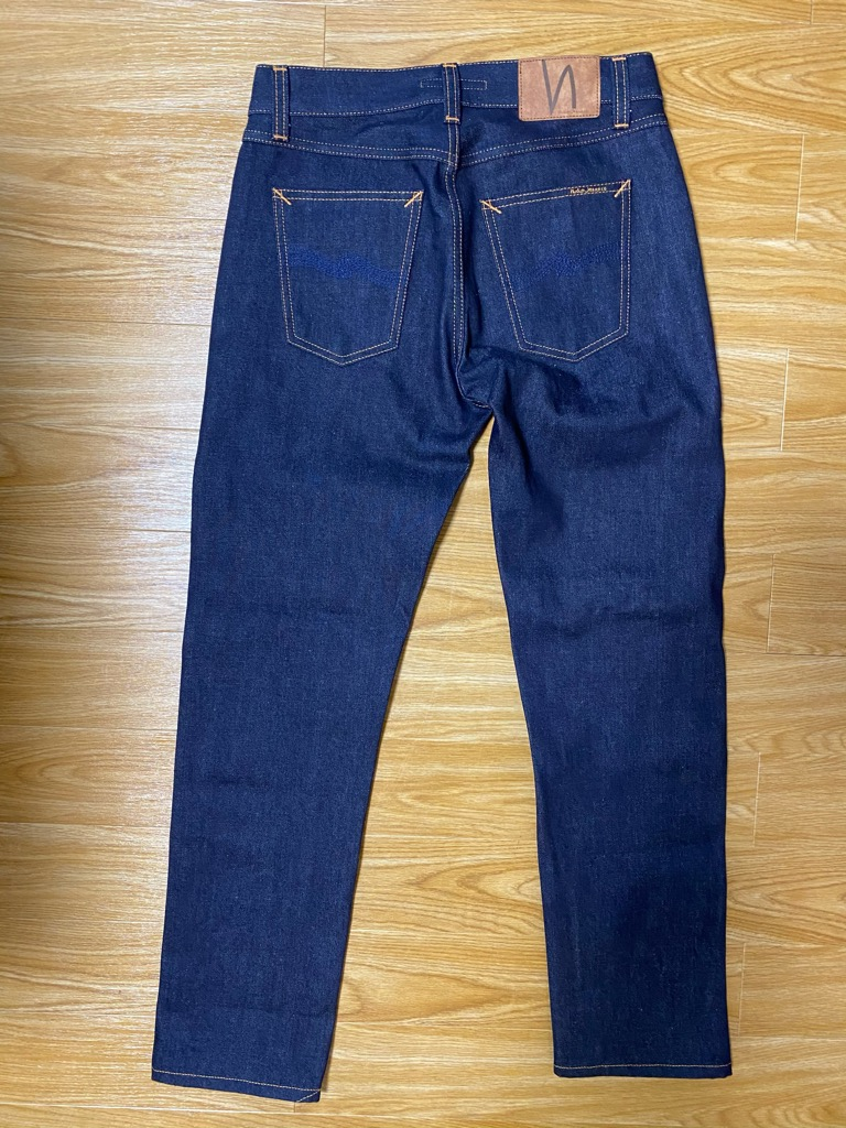 Gritty Jackson Dry Maze Selvage 色落ち