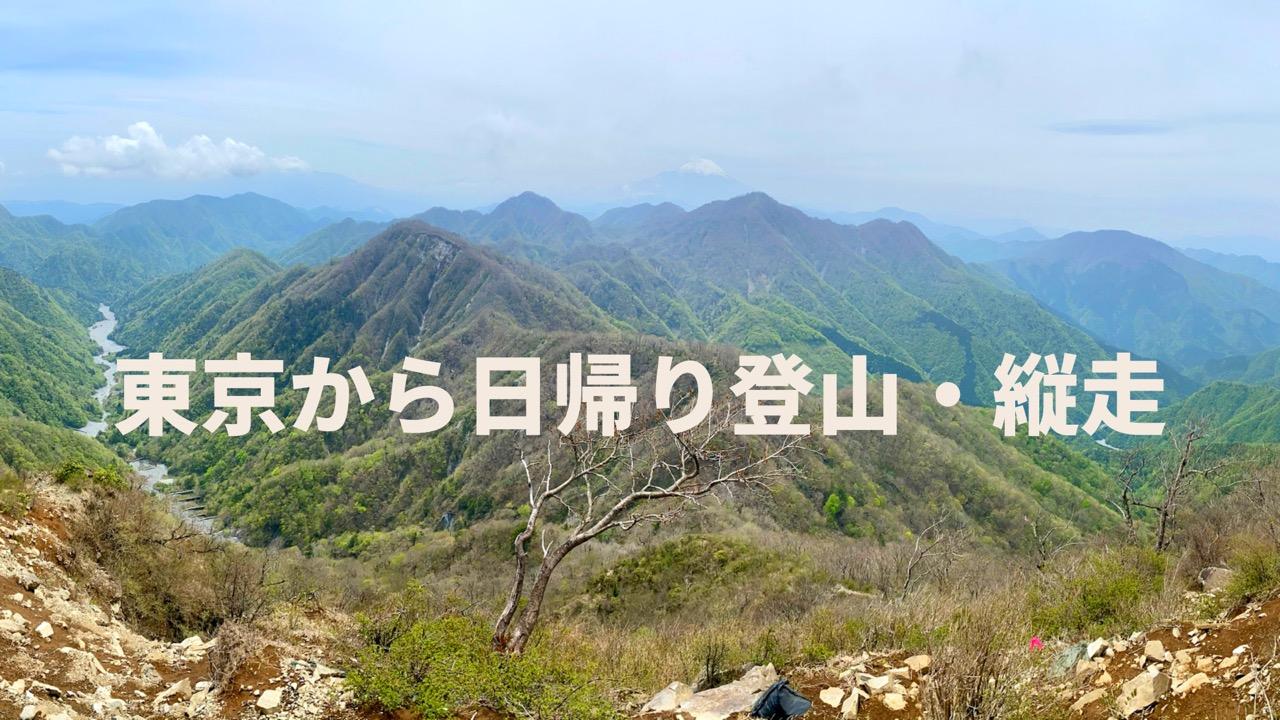 東京から日帰り登山・縦走できるコースを紹介!【難易度別】